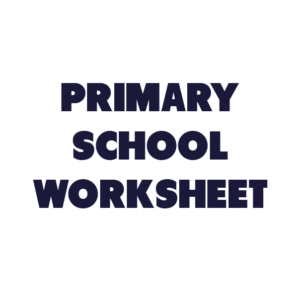 Primary School Worksheet 2
